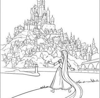 Ausmalbilder Rapuzel Rapunzel Ausmalbilder Rapunzel Malvorlagen Painting Coloringpages Coloring Ausma Ausmalen Ausmalbilder Disney Prinzessin Malvorlagen
