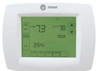 Trane Multi Stage Thermostat 7 Day Programmable Touchscreen Thermostat Tcont802as32daa Th8320u1040 Tht02478 Trane Thermostat Interactive Touch Screen