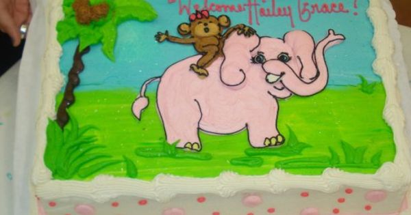 baby girl baby shower cake from heb baby girl shower cakes