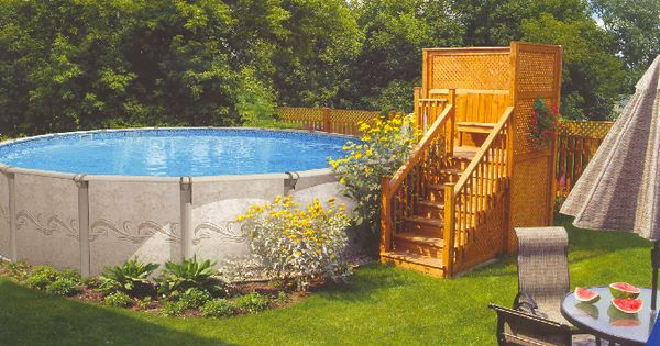 Above Ground Pool Landscaping Gallery Best Beautiful