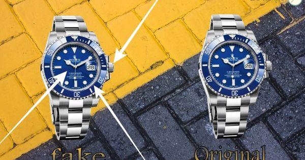 متابعي مدونة عالم الساعات إليك كل ما يجب أن تعرفه عن كيفية تعرف ساعة رولكس مزيفة أو أصلية كيف نفرق بين ساعة رولك Original Rolex Watches Rolex Watches Watches