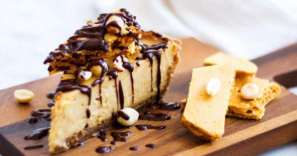 Peanut Butter Honey Comb Pie   Recipe   Chocolate Peanut Butter ...
