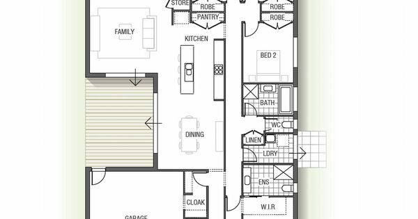The Cedarwood Is A Four Bedroom Home Design With Integrated Energy Efficient Features Creating