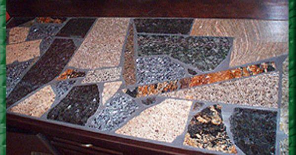 Granite Remnant Mosaic Countertop Granite Recycling