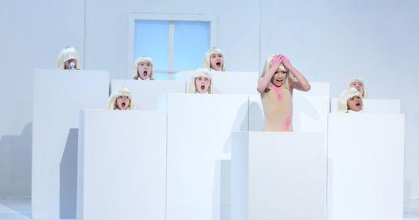 Sia Elastic Heart Live On Ellen Show Music Videos