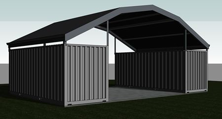 Shipping Container Roof Roofs Containers Building Shed Home Storage Design Build Manufactur Shipping Container Shipping Container Sheds Container House