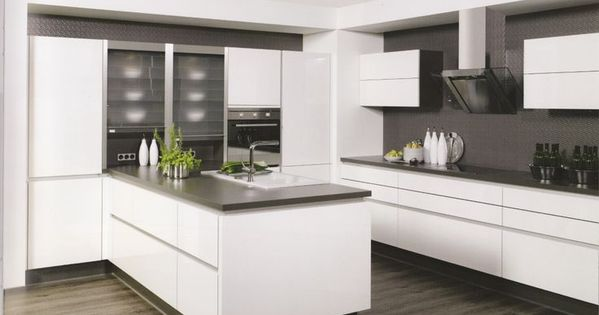 Beispiele für Küche ohne Griffe Umbau Pinterest Interiors - küchen ohne elektrogeräte