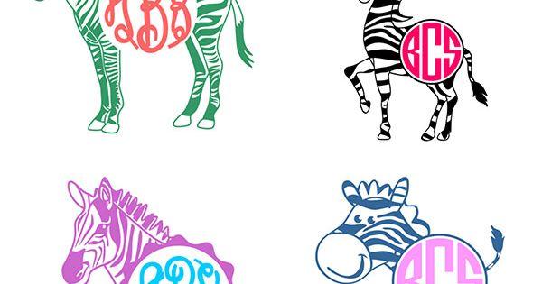Zebra Cuttable Svg Frames | Silhouette | Pinterest | Zebras, Frames ...
