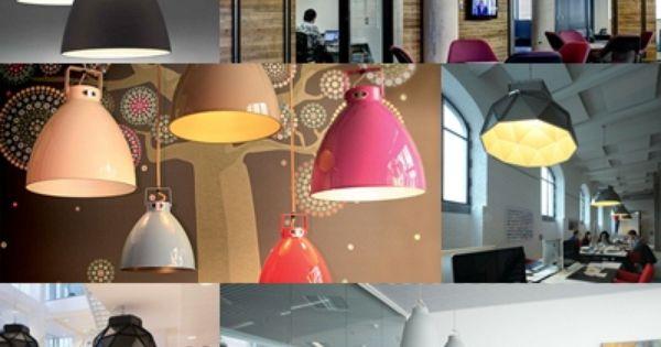 Iluminacion interior oficinas con dise o industrial - Proyectos de iluminacion interior ...