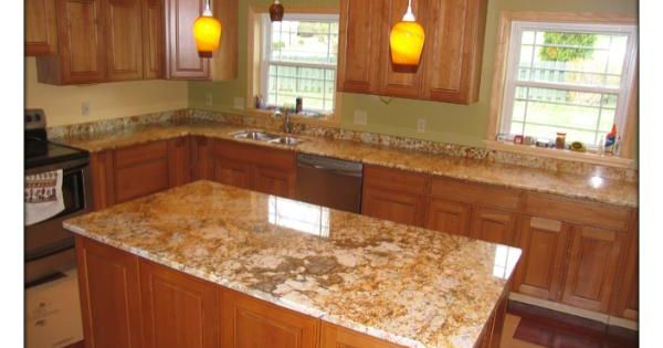 Pictures of sage brush granite countertops google search for Brushed sage kitchen cabinets