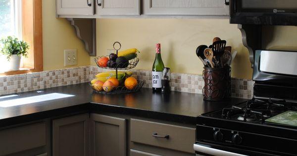 Rustoleum Countertop Paint Onyx : cabinets, black countertops (Rustoleum Countertop Transformations Onyx ...