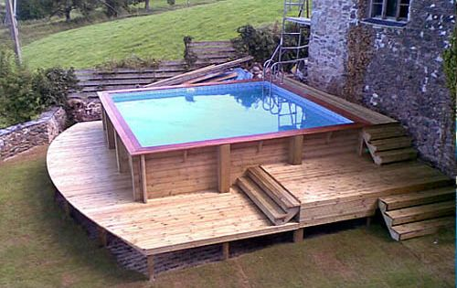 Above Ground Swimming Over Ground Pool Over Ground Pool Advantages And Disadvantages Pool