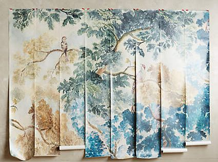 Judarn mural anthropologie wall decor crafts and for Anthropologie mural