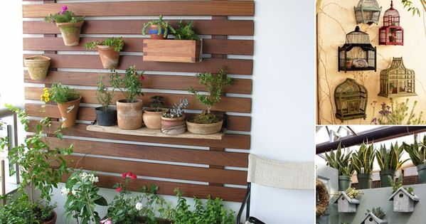 10 awesome balcony wall decor ideas for your home http for How to decorate balcony walls