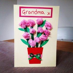 Handmade Flower Card Flower Lover Birthday Card Daffodils Birthday Card Happy Birthday Greeting Card Mother Grandmother Birthday