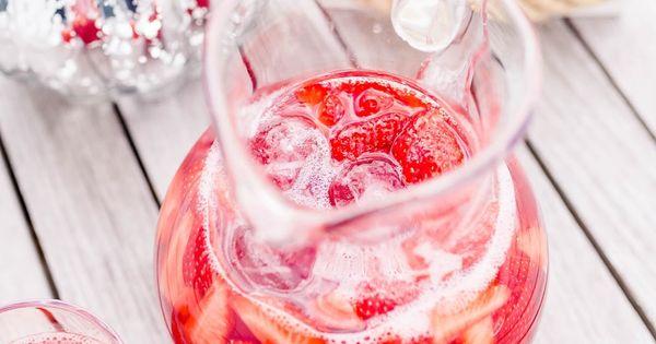Hibiscus Rhubarb Strawberry Iced tea   Blog kleines feines nestchen ...