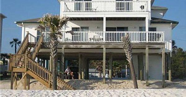 Vrbo Com 729476 Barefoot Beach House Mexico Beach Beach Vacation Rentals Beach House