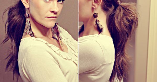 Twisted Ponytail Variation | 23 Five-Minute Hairstyles For Busy Mornings. -Twist your