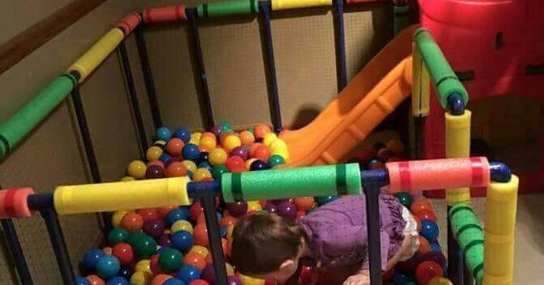Homemade Ball Pit Abel Pinterest Ball Pits Homemade