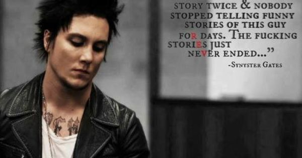 Syn..What a great quote   Avenged Sevnenfold   Pinterest ...