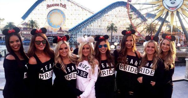 Disneyland bachelorette party bachelorette parties and disneyland on