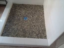 Image Result For Fiberglass Shower Pan With Tile Walls Pebble