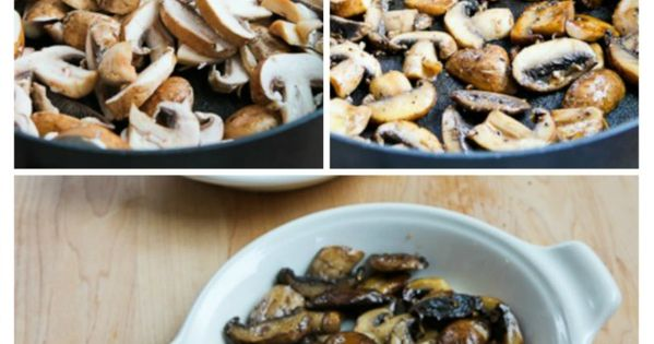Baked eggs, Mushrooms and Parmesan on Pinterest
