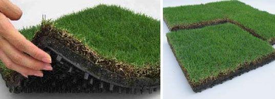 Green Roof Tiles By Toyota Roof Garden Roof Garden Green Roof Grass Roof