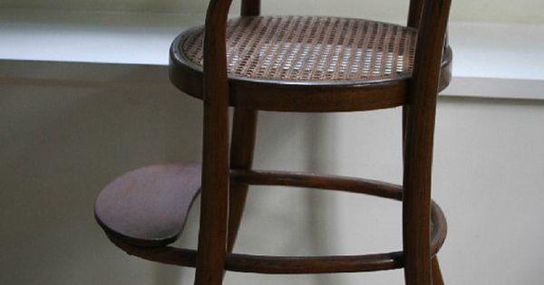 summer sale thonet style baby high chair vintage. Black Bedroom Furniture Sets. Home Design Ideas