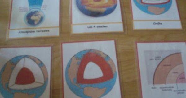 La terre et l 39 int rieur de la terre livrets matetlil for L interieur de la terre