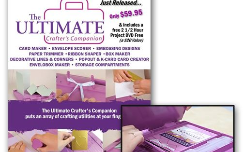 The Ultimate Crafter S Companion All In One Scoring Tool Crafters Companion Free Card Maker Card Creator