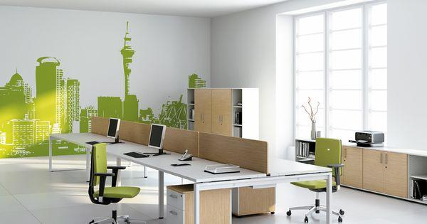 organisation espaces de travail tendance d co open space. Black Bedroom Furniture Sets. Home Design Ideas
