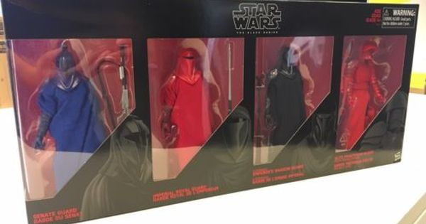 In Hand Star Wars Hasbro Black Series The Last Jedi Guardians of Evil 4 Pack New