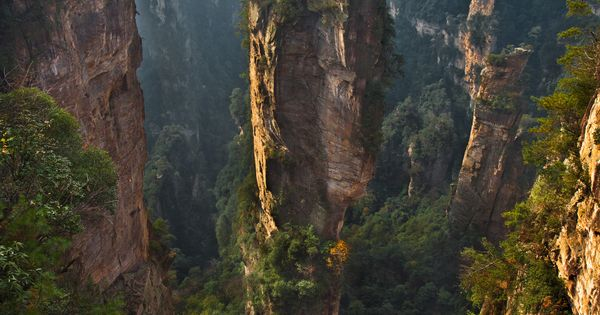 Zhangjiajie National Forest Park in China. one of the places i want