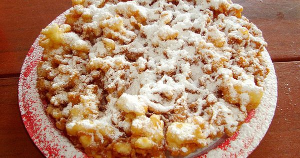 how to make a funnel cake without baking powder
