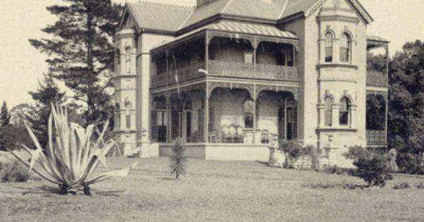 Cambridge House Fairfield C 1870s Cambridge House Australian Homes Historic Homes