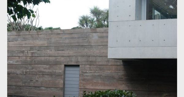 Cast In Place Joint : Herne bay house leushke architects auckland g precast