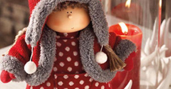christmas from sia home fashion doudou pinterest bonecas natal e bonecas de pano. Black Bedroom Furniture Sets. Home Design Ideas