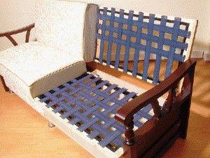 Elasbelt Webbing 2 Inch Back 10 Yard Roll Upholstered Furniture Living Room Sofa Design Furniture