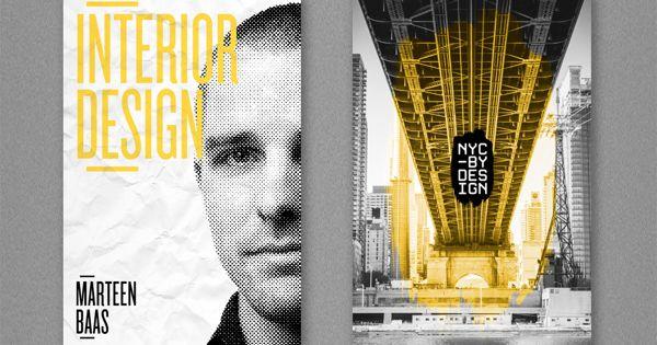 Refreshing design work for a series of New York Design Week Magazin.