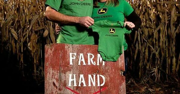 Farm Hand Wanted...On The Way! Cute Country Pregnancy ...