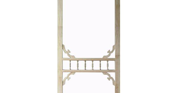 Porte moustiquaire rustique countryside rona d cor for Porte exterieur rona