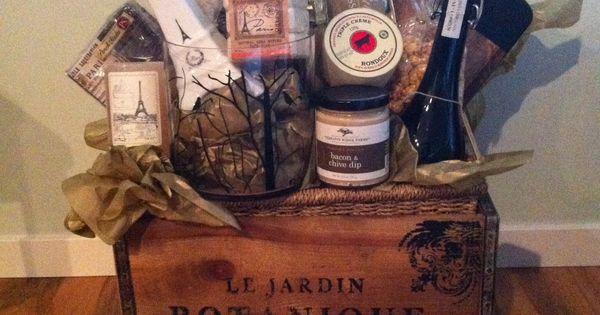 Gift Basket Paris And Vintage Theme Gift Baskets