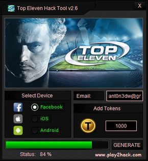 TOP ELEVEN HACK 2020 Working Working tools for apps and games ...