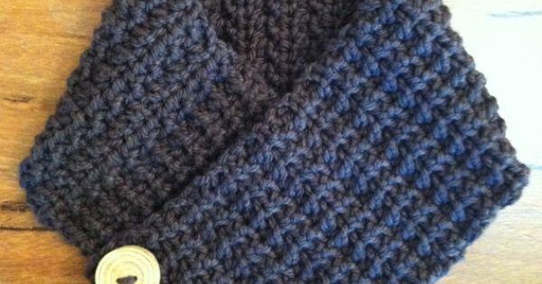 Bubnut Crochet Patterns : Warmer - Scarf Crochet Pattern No.509 Digital Download PDF Crochet ...