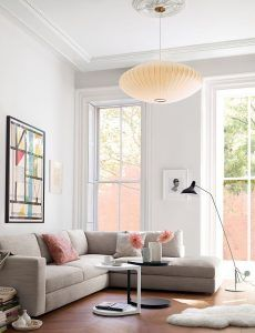 George Nelson Bubble Lamp Lamps Living Room Modern Room Modern Dining Room