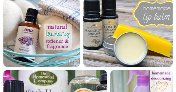 My Merry Messy Life: 13 Recipes Using Essential Oils to make non-toxic