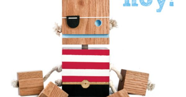 Wooden Block Doll