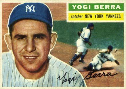 Yogi Berra And The Kids From The Sticks Yogi Berra Baseball Card Values Yankees Baseball