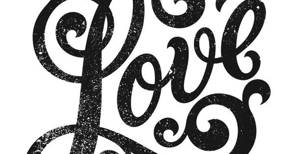 This Intricate Type Piece Was Designed To Celebrate Love Love For Others Love For Change Love